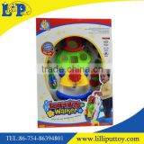 Colorful baby toy musical baby learning walker
