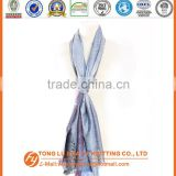 2016 wholesale digital printing cashmere blue color print scarf