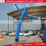 Blue air dancer, air dancers advertisment, single leg inflatable air waver