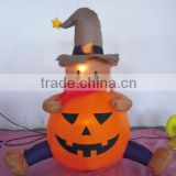 Halloween Decorative Inflatable Item With Attractive Light Inside / Advertising Prodcuts