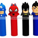 Hot design the avenger power bank, spiderman power bank, batman power bank