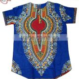 C11014 new coming fashion adorable style favarable price soft material short sleeve straight african lady blouse