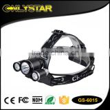 Onlystar GS-6015 head torch light waterproof rechargeable high power headlamp                                                                                                         Supplier's Choice
