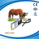 Animal & veterinary ultrasound machine used in cattle, equine, etc / veterinary ultrasound scanner (MSLVU02)