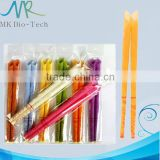 Trumpet shape 8 color aroma ear candles for health and beauty