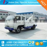 hot sale dongfeng iveco jac forland mini road wrecker truck 3 ton, heavy duty wreckers for sale