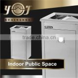 Best Selling Stainless Steel Bin Cheap Compost Dustbins For Kitchen