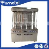 Electric gas Electric Middle East multifunction shawarma rotisserie chicken shawarma machine price