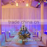hot sell wedding mandap chair,pipe and drape for event