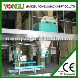 factory direct supply easy assembly goat feed pellet processing line for sale with less power consumption