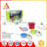 Stainless steel pot cooking play kids kitchen set toy                                                                                                         Supplier's Choice