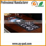 AY Promotion Gifts Bar Drink Mat Bar Counter with Logo Printed, Bud Light Official Beer Bar Counter Mat