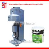 Can Pneumatic Lid Closing Machine