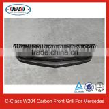For Mercedes W204 Auto Parts Carbon Front Grille