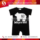 Cutie Full Printed+Embroidery baby children'sd lovely animals dressesTutu dress romper suits printe