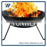 High Temperature Painted Patio barbecue fire pit