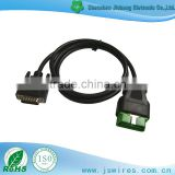 Auto Testing Line DB 15P Male TO OBD Male Vehicle Diagnostic cable