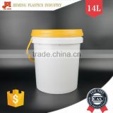 Heavy Duty Packaging Barrel, Oil Plastic Container with Spout, Plastic Material Lubricant Barrel