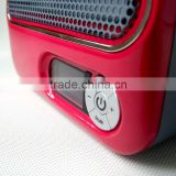 Original factory Unique Carton Portable mini Desk top Heater personal fan heater 1500/900W office promotional gifts