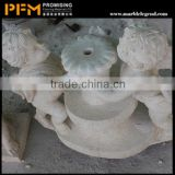 2014 China most popular angel style granite cemetery monuments