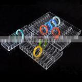 wholesale acrylic trays acrylic jewelery divided display tray