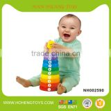 Plastic educational toy baby toy stacking cup