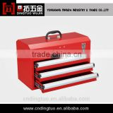 rolling red plastic tool cabinet DT-632