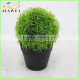 cheap artificial decorative grass plant ball bonsai wholesale