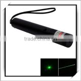 Cheap! 302 150mW 532nm Green Flashlight Style Laser Pointer Black