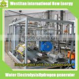 Integrated Hydrogen Generator Unit With Water Electrolysis Hydrogen Genere and Drying For Power Plant