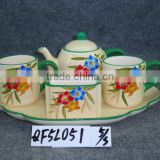 ceramic tea pot set