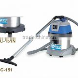 15L wet and dry vacuum cleaner with italy motor