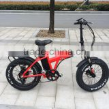 20 inch folding fat tyre electric bike lithium battery motorbike with CE certification electric bicycle