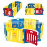Best Selling High quality and colorful Baby Playpen Kids 8 Panel Safety Play Center