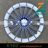 15inch WHITE/BLUE Color Car Wheel Cover Twin Color Car Wheel Caps