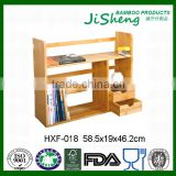 Home Furniture Desktop Small Book Organizer Bamboo Bookcase
