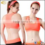 Ecoach high quality super comfort compression fitness energetic lifestyle solid pattern womens custom sports yoga Bra