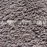 100%Polyester sherpa fleece fabric solid for winter fashion gramnets micro sherpa throw