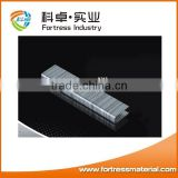 2016 high quality silver color galvanized standard staples