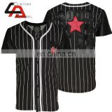 Latest dri fit shirts button down baseball jersey shirt/Fashion Baseball Wear,Popular shirt for men