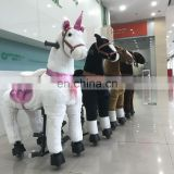 New arrival!!!HI CE funny mechanical ride on horse for kids,pony ride on toy for hot sale