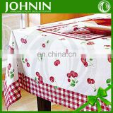 100% cotton countryside style new desigh table cloth