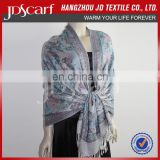 Alibaba supply spring winter very soft Wool And Cashmere Shawl