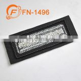 nice design garment handmade shiny beads patch