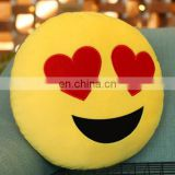 Wholesale Drop Shipping Funny Emoji Pillow,Creative Face Emotion Backpack Pillow for sleeping,playing Size: About 28cm x 28cm