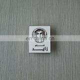 fashion tread UAE year of Zayed pin, badge, lapel, white back custom logo printing