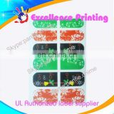 hot sale self adhesive populer toe nail stickers