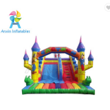 Factory Price kids Indoor inflatable cartoon slide