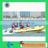 inflatable pontoon boat,rubber boat ,inflatable banana boat