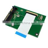 "Brand New 1.8"" ZIF/LIF CE HDD Hard Disk Drive SSD to 7+15 22 Pin SATA Adapter Converter"